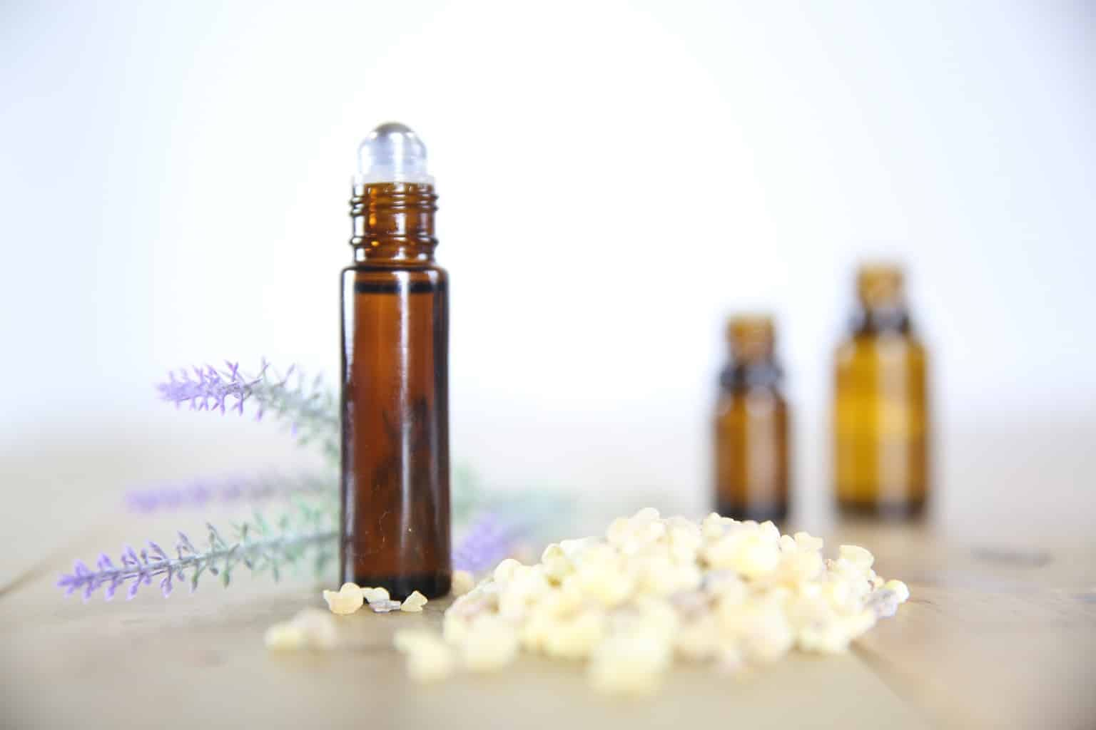 Try this essential oil roller bottle to clear up any skin irritation or blemish.