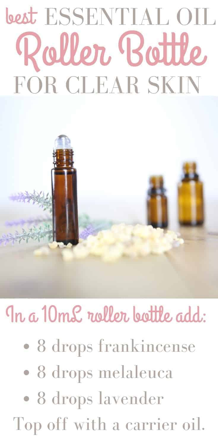 HOW TO MAKE A CLEAR SKIN ESSENTIAL OIL ROLLER BOTTLE our oily house diy recipes natural remedies clear skin roller bottle
