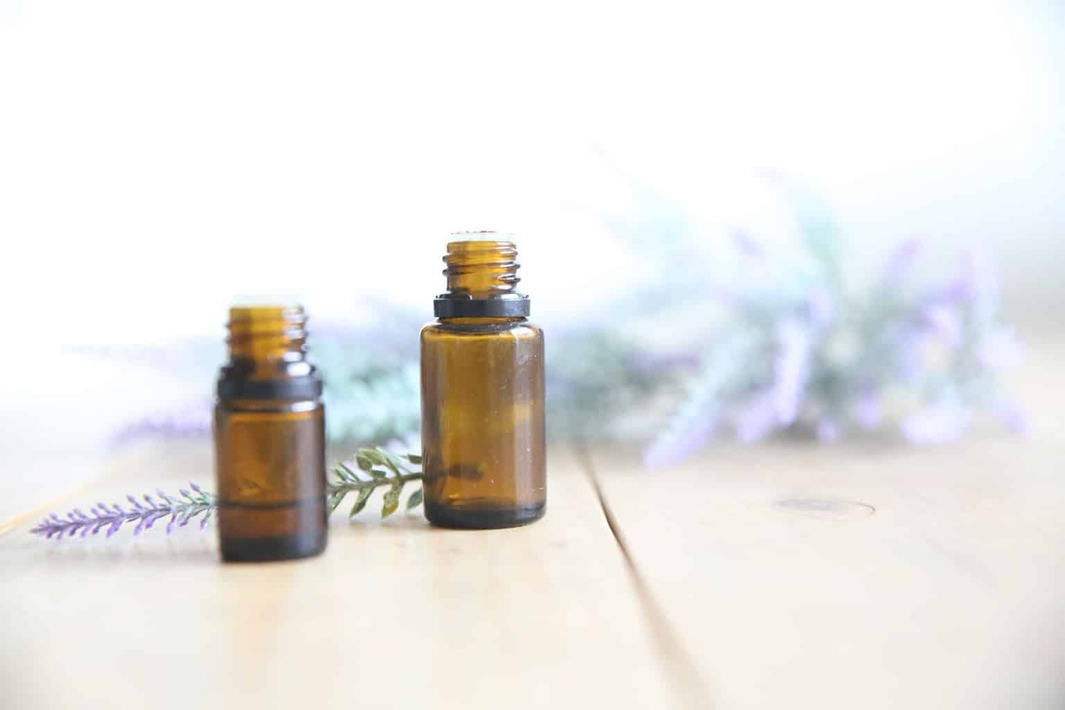 Simple essential oil roller bottle recipes for kids and adults using lavender.