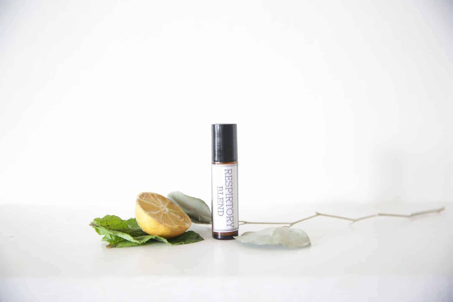 Essential oil roller bottle blend for all things respiratory.