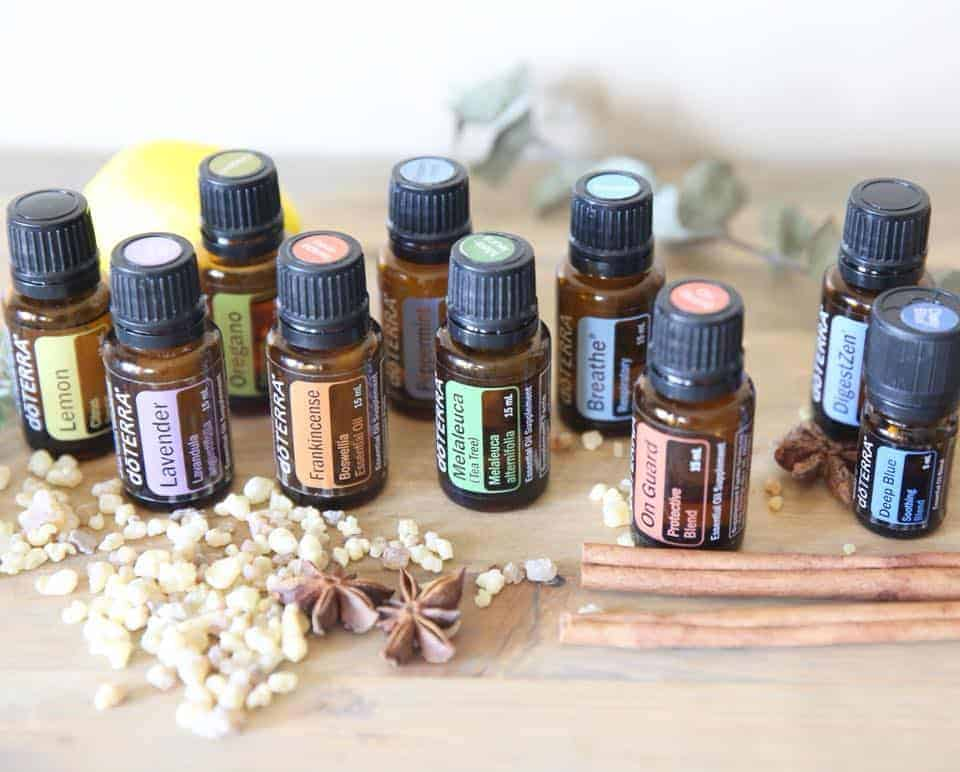 essential oil blends using doterra top 10