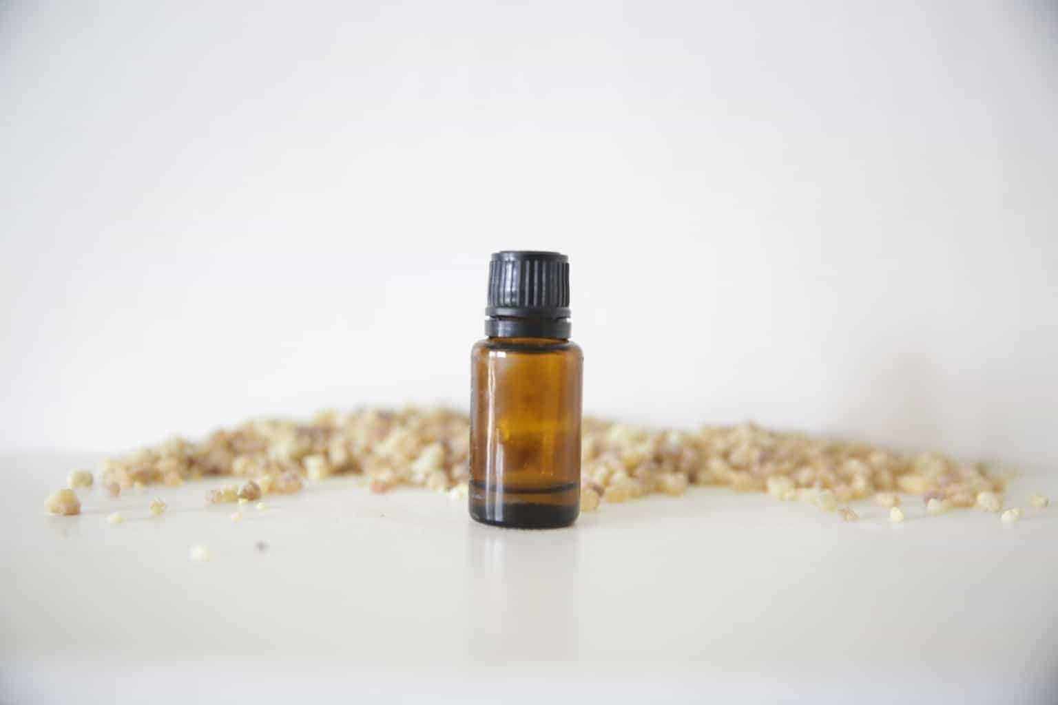 Use frankincense essential oil when you are aren't feeling well to help boost the immune system.