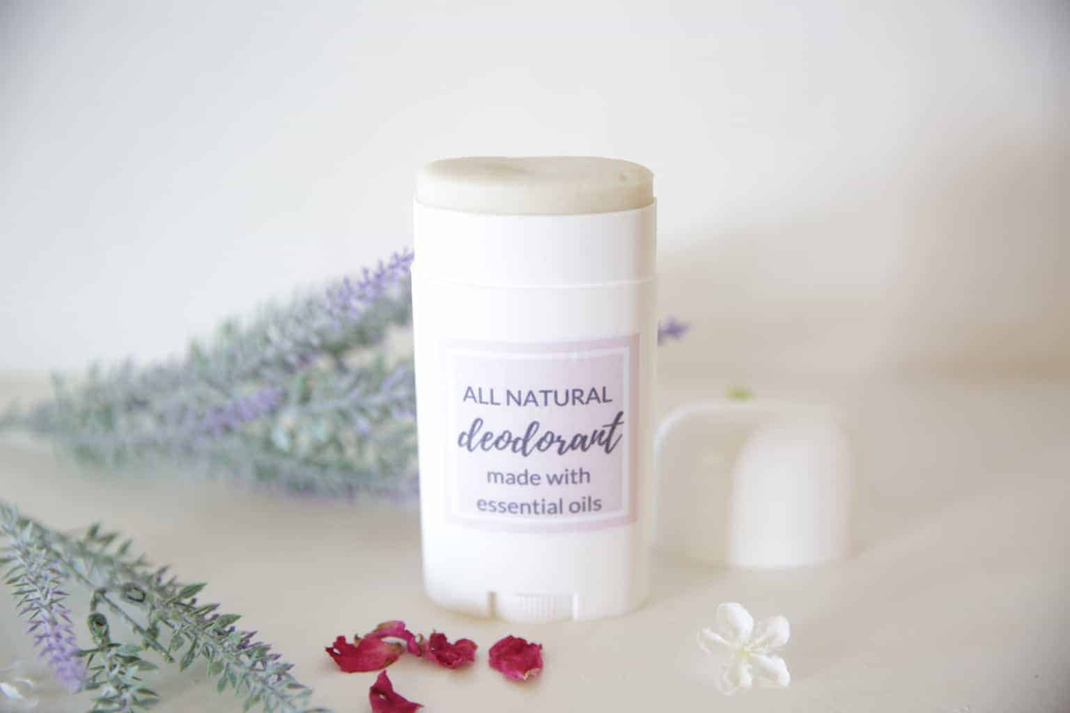 Learn how to make deodorant with essential oils that is all natural, and actually works!