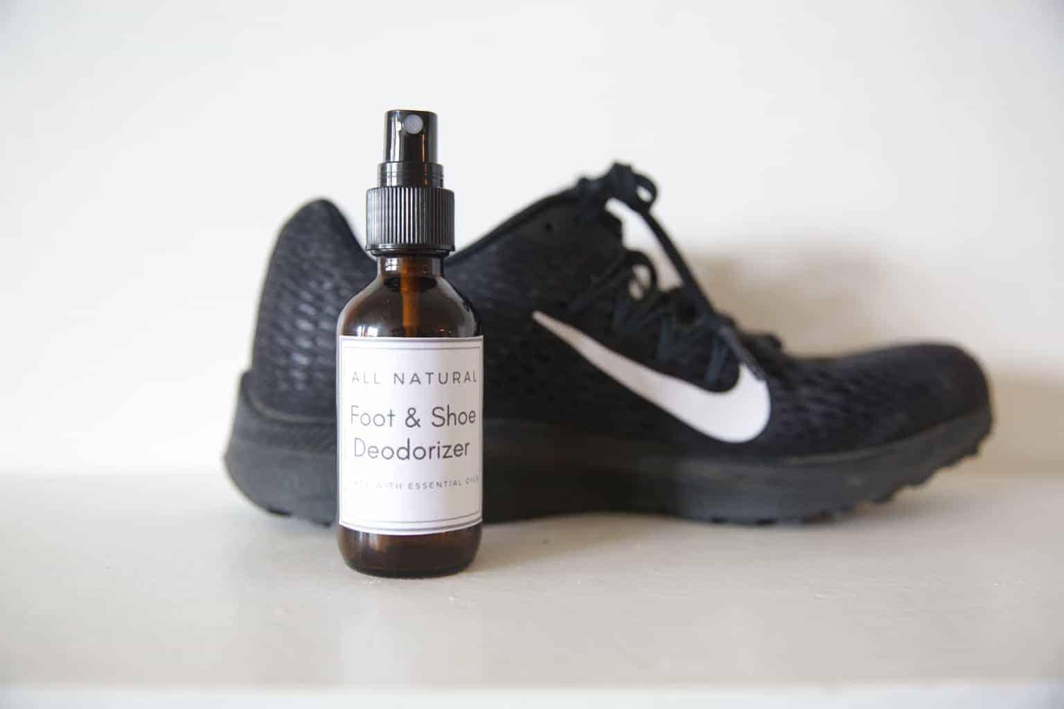 DIY Foot and Shoe Deodorizer Spray