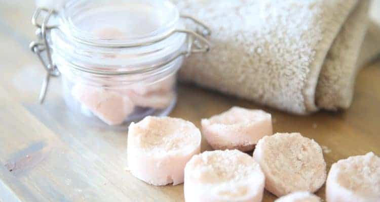 Essential Oil Shower Melts Recipe
