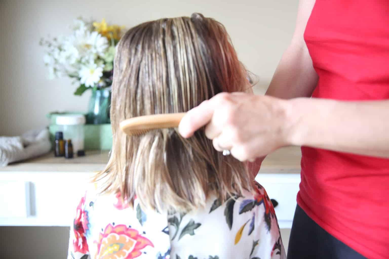 DIY Hair Detangler Spray 3
