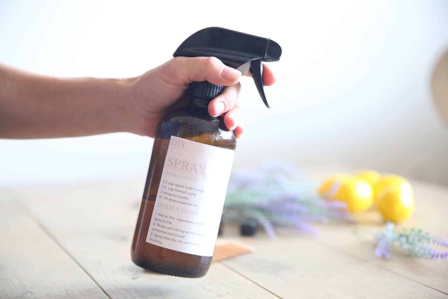 DIY Hair Detangler Spray 2