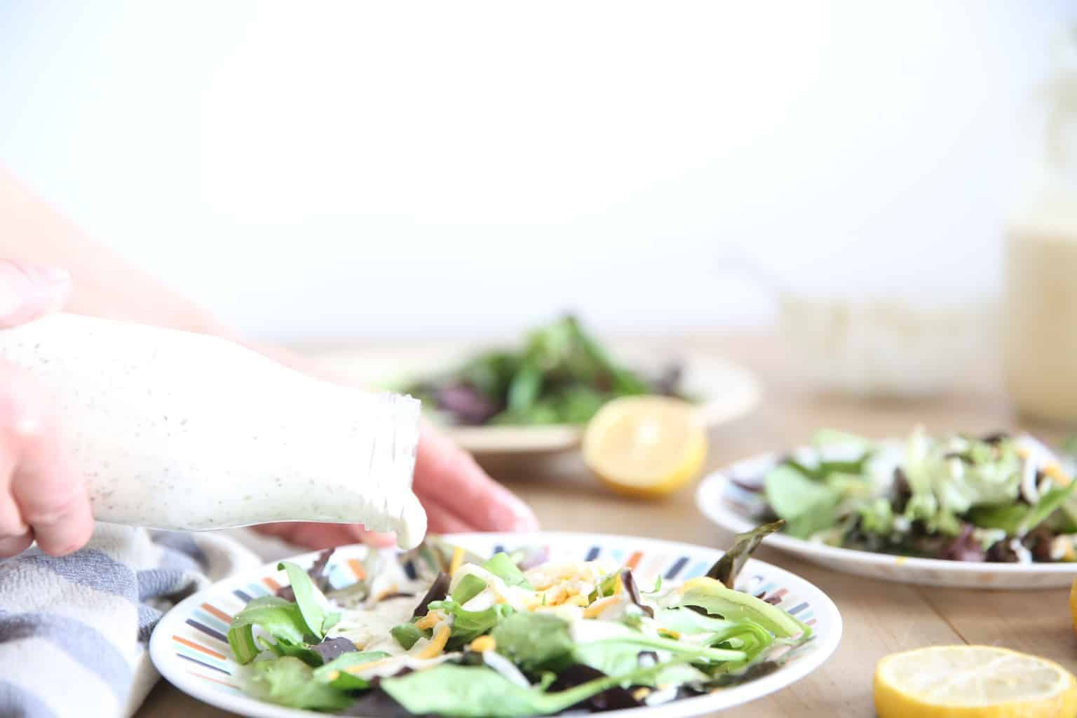 homemade healthy ranch dressing paleo whole 30 greek yogurt ranch dressing healthy lemon essential oil