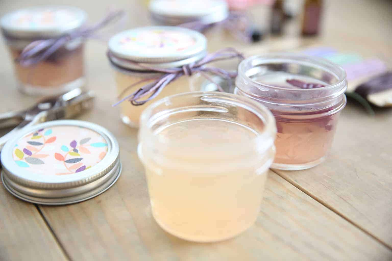 Homemade Gel Air Freshener toxic free home homemade christmas gift diy gift ideas handmade crafts essential oils healthy lifestyle
