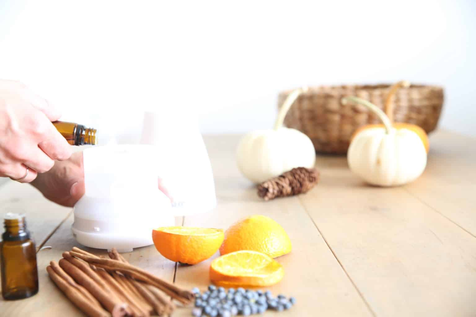 Essential oils can be used to help protect against flu and cold symptoms. Using essential oils safely with kids.
