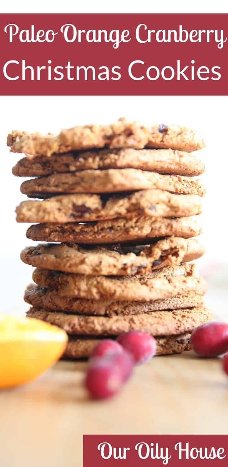 paleo orange cranberry cookie recipe our oily house paleo recipes natural solutions healthy lifestyle cooking with essential oils
