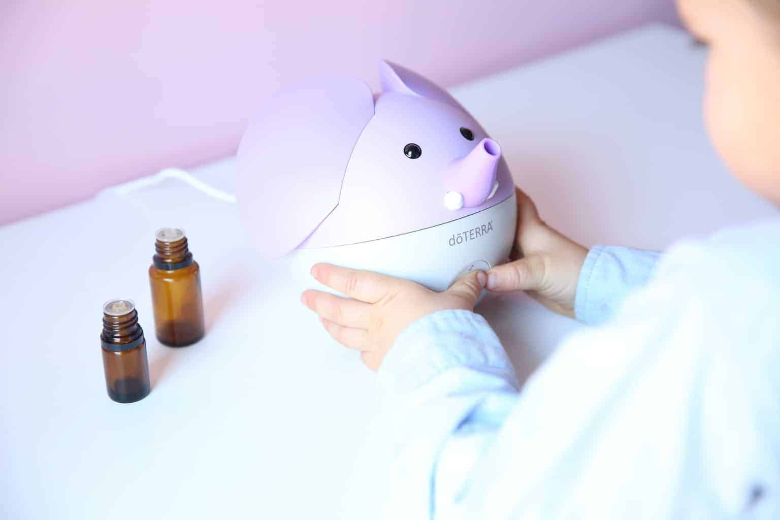 Diffusing essential oils can help your child to sleep better at night, focus during the day, and boost their immune system.