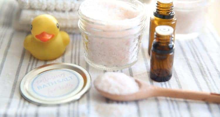 Calming Bath Salts for Kids | Several Variations
