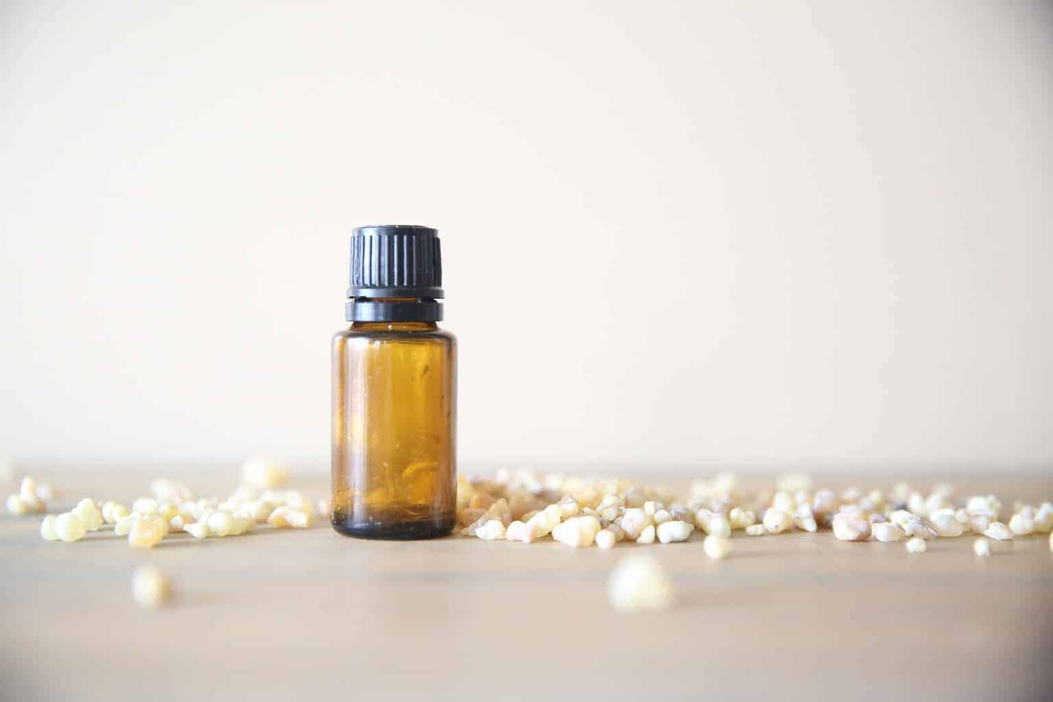 Using myrrh essential oil can help promote a better night sleep, moisturize the skin, and support the immune system.
