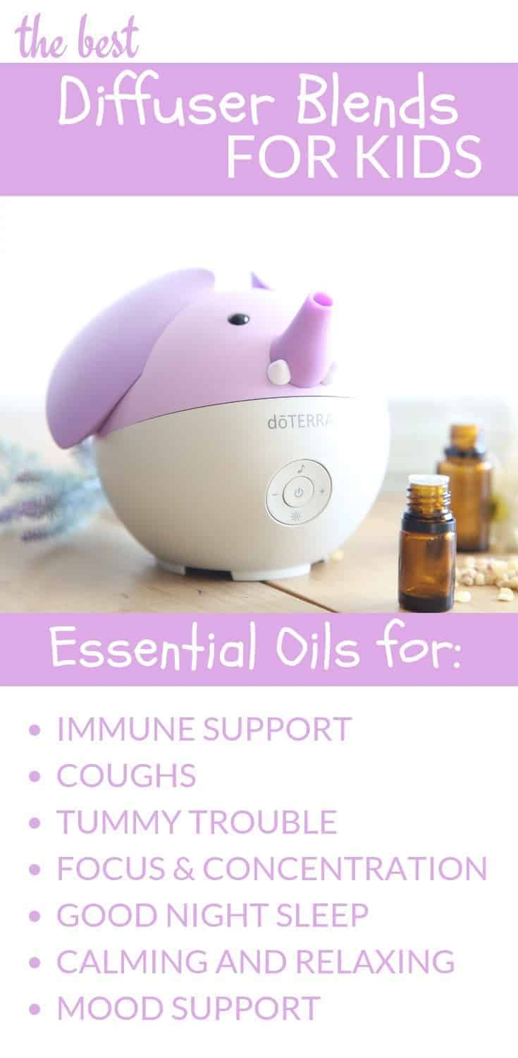 BEST ESSENTIAL OIL DIFFUSER BLENDS FOR KIDS