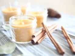 THE EASIEST BEESWAX CANDLE RECIPE candle making video tutorial diy projects for the home natural toxic free candles essential oils our oily house how to make a candle easy diy project beeswax candle recipe scenting with essential oils doterra young living bet essential oils for candles christmas gifts homemade christmas gifts DIY gift ideas