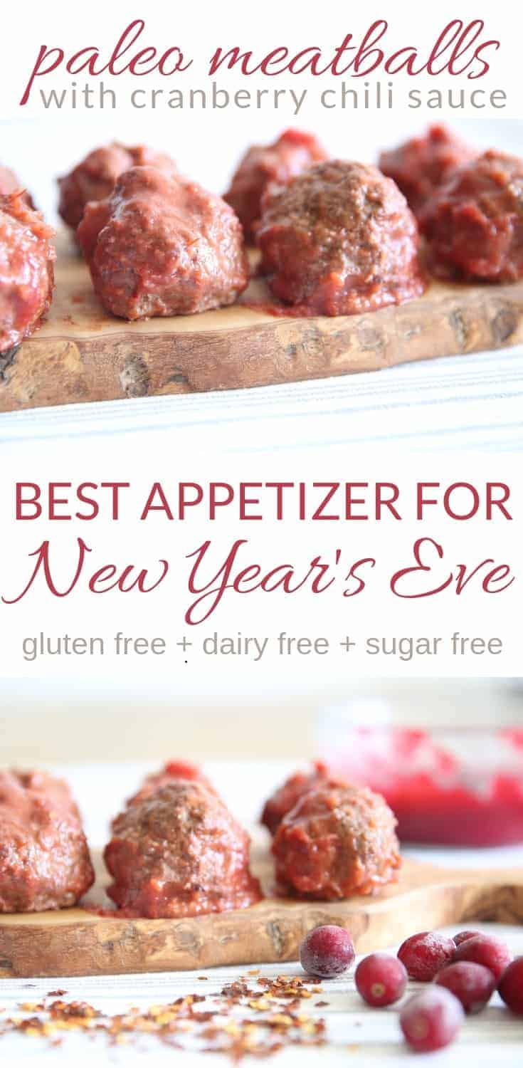 paleo meatballs with cranberry chili sauce paleo recipes whole 30 homemade meatballs new years eve appetizer cooking with essential oils