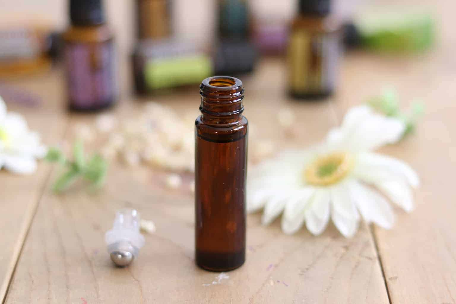 Roller bottle recipe for stress and anxiety. The best essential oils for stress and anxiety are lavender, bergamot, copaiba, lemon, lime, doterra balance blend, doterra serenity blend, and doterra citrus bliss blend. Add 5 drops of each essential oil to a roller bottle and top off with fractionated coconut oil. Apply topically as needed .