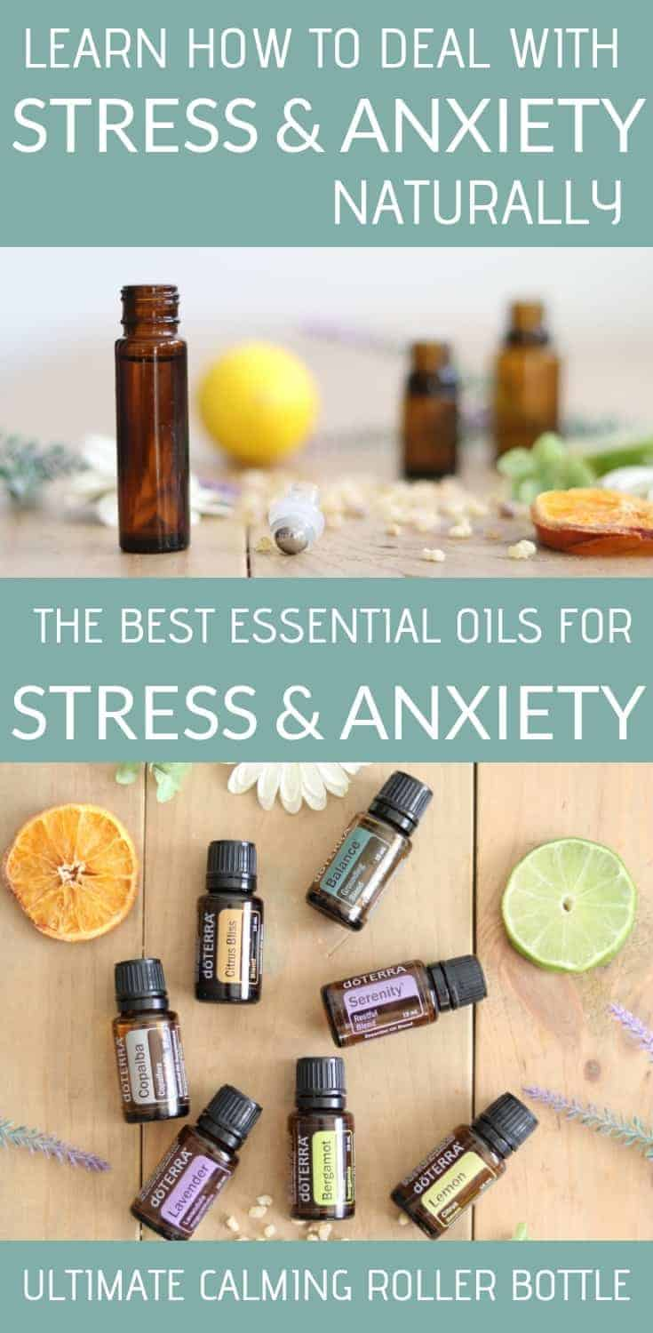 Essential oils, natural remedies, and non toxic ways to deal with stress and anxiety. How to use essential oils internally to calm the nervous system and reduce stress.