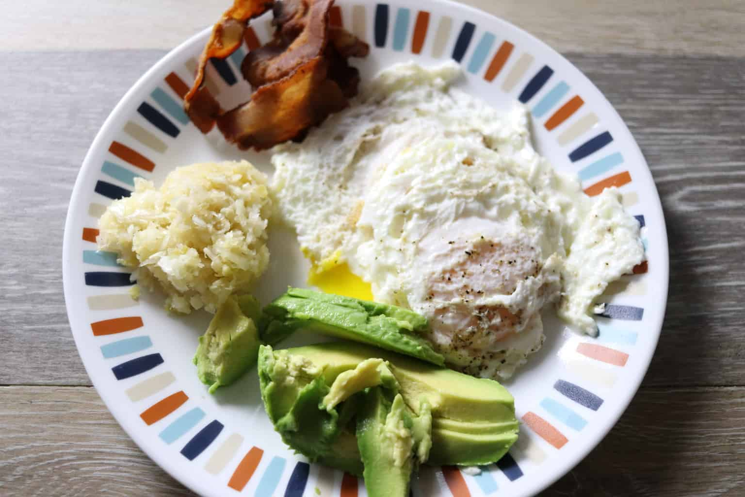 what we eat in a week whole 30 breakfast. How to make eggs in a cast iron skillet.