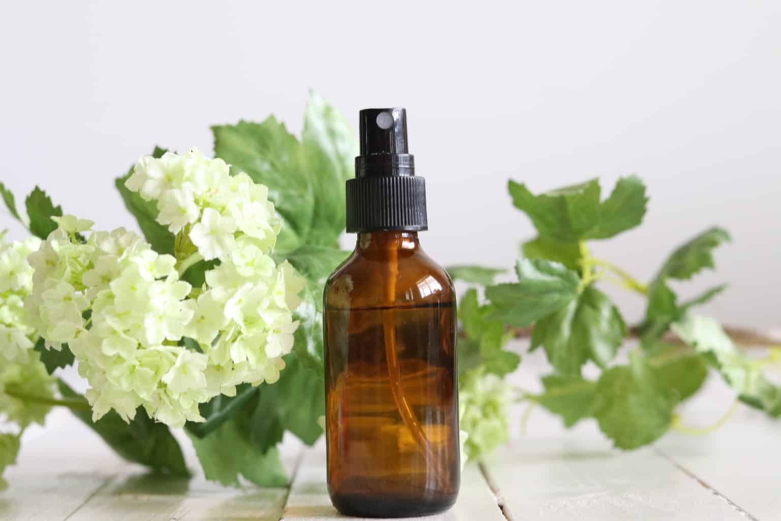 Learn how to make a simple essential oil room spray for spring with this simple DIY recipe.