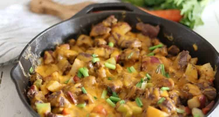 Cast Iron Skillet Dinner for Family | Healthy Meal Ideas