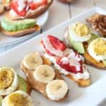 Learn how to make sweet potato toast with several topping ideas.