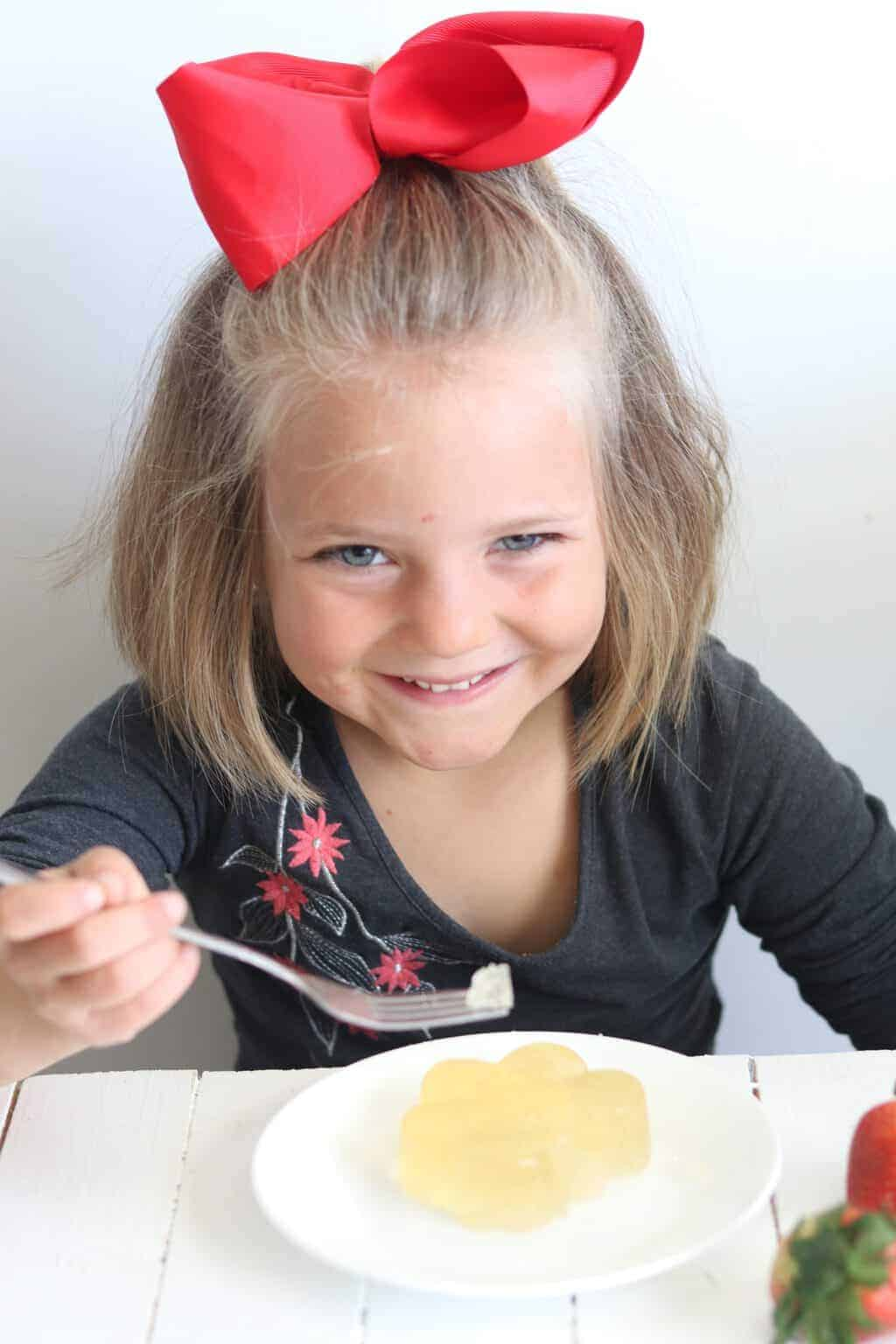 Kid approved organic jello that is made with all natural ingredients.