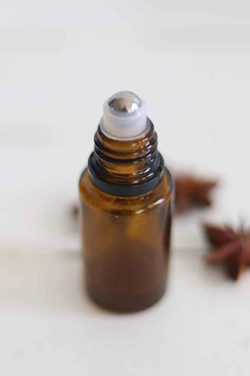 Make your favorite essential oil blend in an empty 15mL essential oil bottle by adding this inexpensive roller ball top. It can fit directly on a 5mL or 15mL bottle.