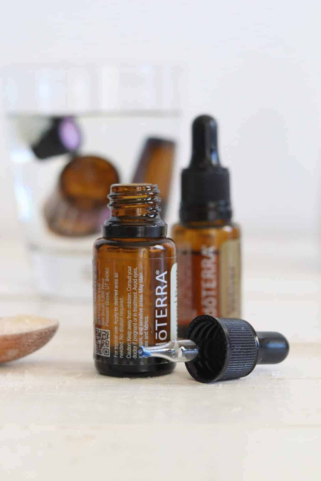 Turn your empty essential oil bottle into a face serum with this simple essential oil hack.