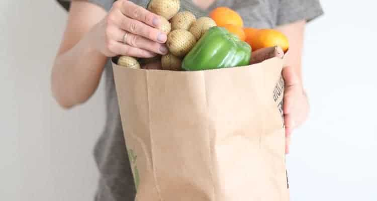 See what I buy from ALDI for my healthy whole month of food for my family.